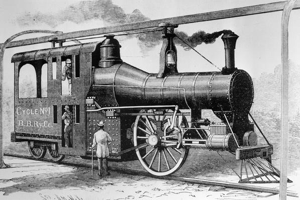 Bicycle Locomotive | Evolution of the Railroad (Engine)
