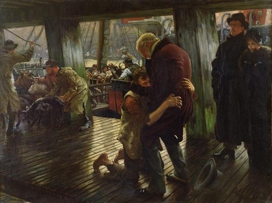 The Prodigal Son in Modern Life: The Return, 1880
