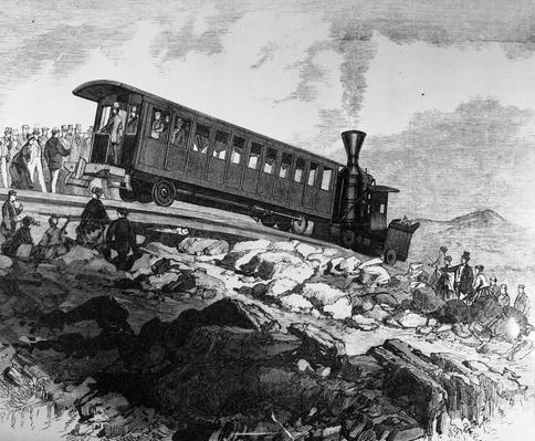 President Arrives | Evolution of the Railroad (Engine)