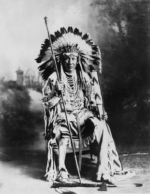 Blackfoot Chief | Native American Civilizations | U.S. History