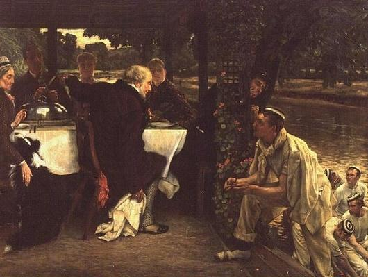 The Prodigal Son in Modern Life: The Fatted Calf, 1880