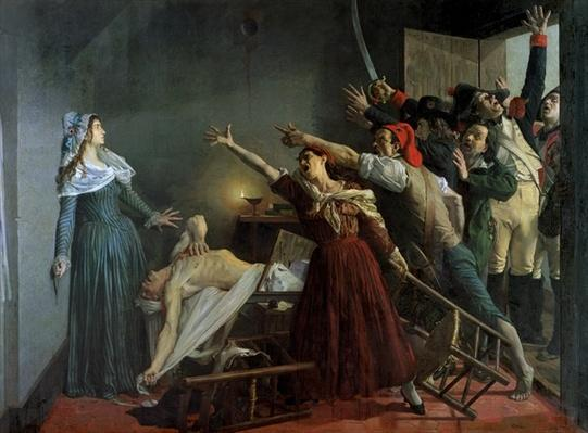 The Assassination of Marat, 1886
