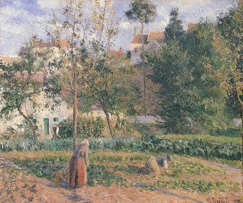 Vegetable Garden at the Hermitage, Pontoise, 1879