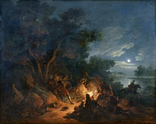 Attack by Robbers at Night, c.1770