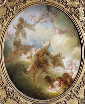 The Swarm of Cupids, c.1767
