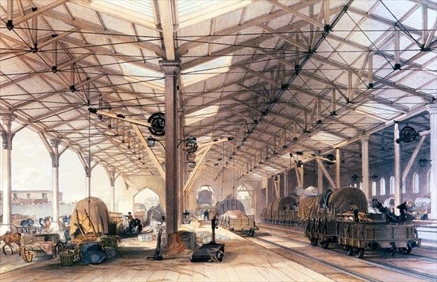 Great Western Railway: Freight shed at Bristol