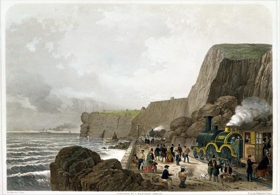 South Devon Railway: Landslip near the Parson and Clerk Rock, Dec. 29th 1852