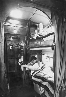 Bunks In Coach | Evolution of the Railroad (Engine)