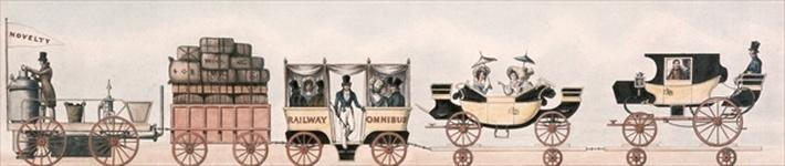 Rainhill trials, 'Novelty', the unsuccessful odds-on favourite, 1829