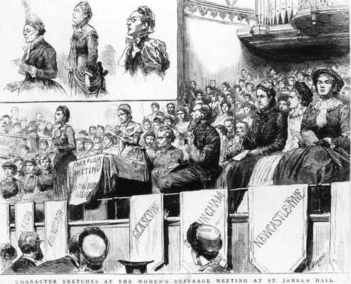 St James Suffrage | Women's Suffrage | U.S. History
