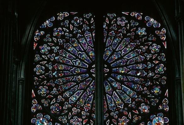 North rose window