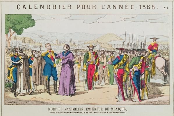 The Death of Maximilian, Emperor of Mexico, 19th June 1867
