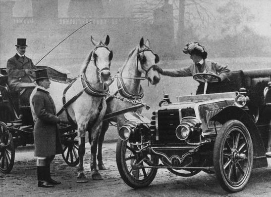 Cars And Horses | Evolution of the Automobile