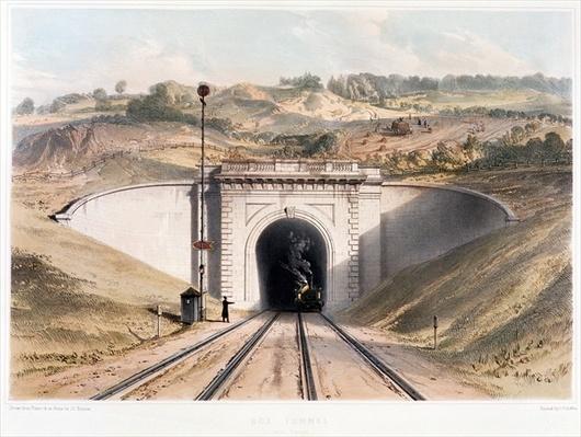 Portal of Brunel's box tunnel near Bath