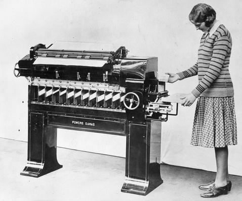 Census Machine | History of the Computer