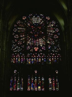 North transept window