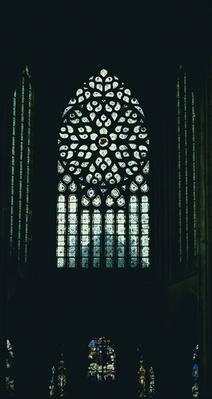 East rose window, c.1520