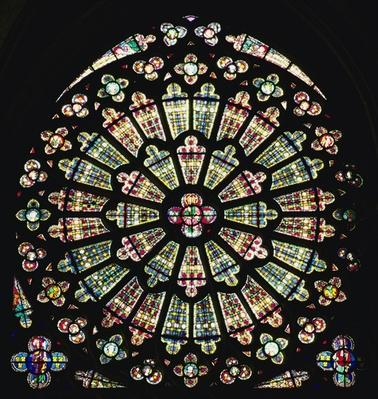 South rose window, c.1320