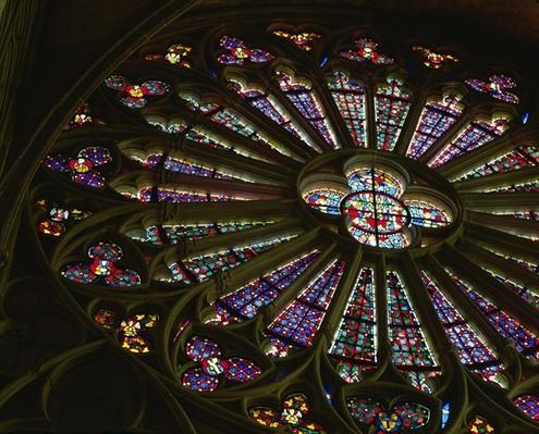 North rose window, c.1300-20