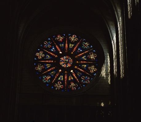 North rose window