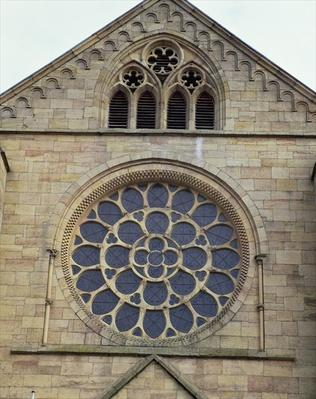 Rose window, 1249