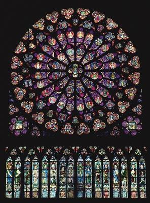 Rose window, 1260
