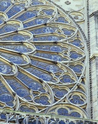 South rose window