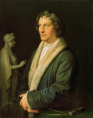 Portrait of the sculptor Bertel Thorvaldsen, 1823
