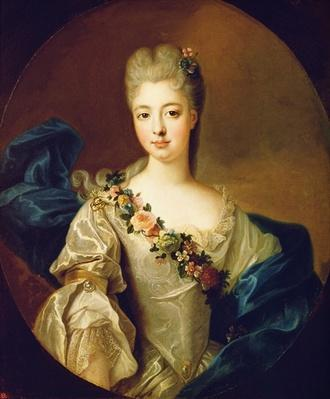 Portrait of Charlotte Aglae of Orleans, 1720s