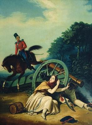 Scene from the 1812 Franco-Russian War, 1830s
