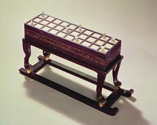 Gaming board, from the Tomb of Tutankhamun