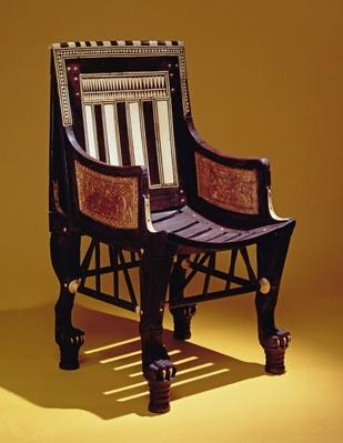 Child's chair, from the Tomb of Tutankhamun, New Kingdom