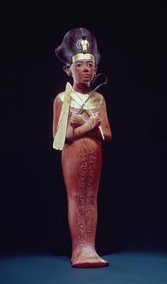Shabti figure of the king from the Tomb of Tutankhamun