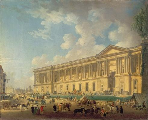 The Colonnade of the Louvre. c.1770