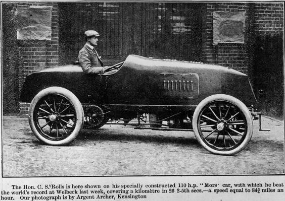 Rolls Motor Car | Evolution of the Automobile