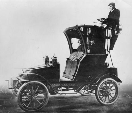 Motor Hansom Cab | Evolution of the Automobile