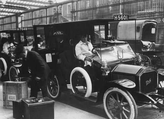 At The Station | Evolution of the Automobile