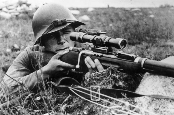 Russian Sniper | World War II