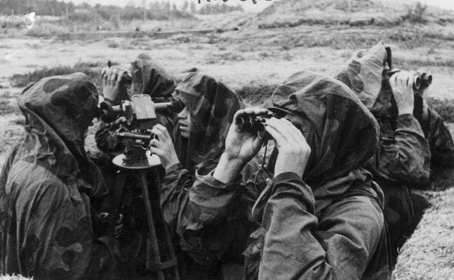 Hooded Look-Outs | World War II