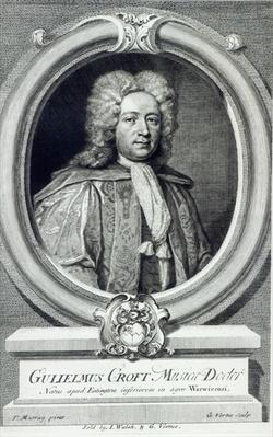 William Croft, engraved by George Vertue