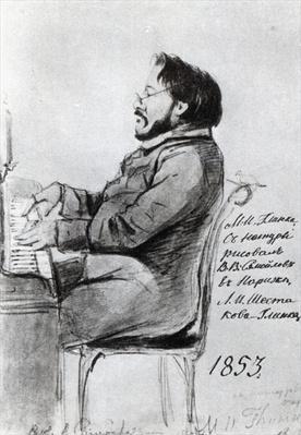 Mikhail Glinka, 1853