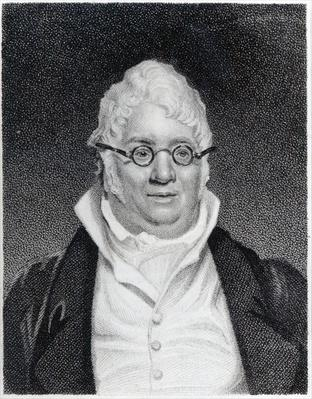 James Hook, engraved by J. Blood for 'The European Magazine', 1813