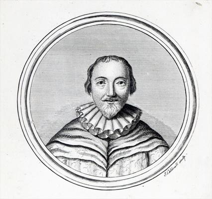 Orlando Gibbons, engraved by J. Caldwall
