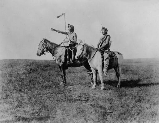 Blackfoot Riders | Native American Civilizations | U.S. History