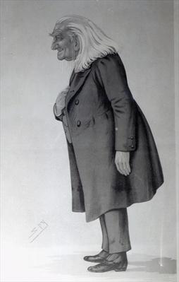 Franz Liszt, illustration from 'Vanity Fair', May 15th 1886