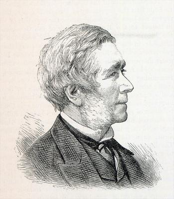 Dr. John Hullah, illustration from 'The Illustrated London News', March 1884