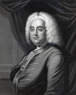 George Frederic Handel, engraved by Thomson