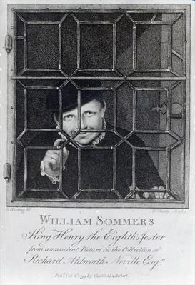William Sommers, engraved by R. Clamp, 1794
