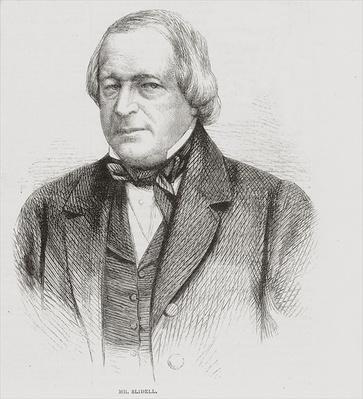 John Slidell, 1861