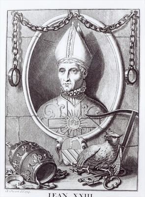 Antipope John XXIII, 1713